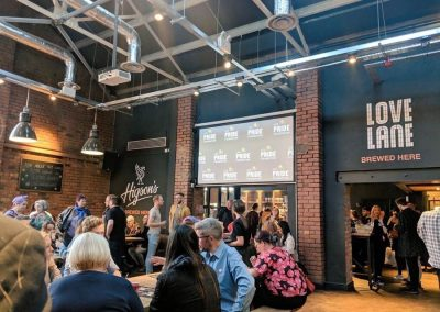 LCR Pride Partnership Launch Event