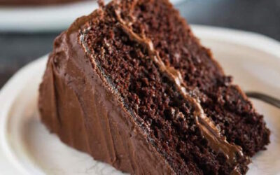Chocolate and Vanilla Stout Cake