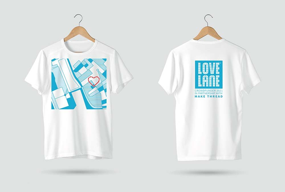 We've partnered with our Baltic cohorts Make Thread on our limited edition Crowdfunder T-shirt